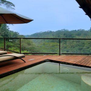 Luxury Bali Honeymoon Packages Kupu Kupu Barong Villas River View Pool Villa