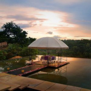 Luxury Bali Honeymoon Packages Kupu Kupu Barong Villas Sunset