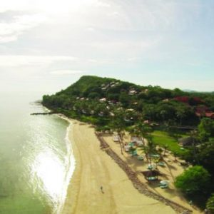 Luxury Koh Samui Honeymoon Packages Belmond Napasai Ariel View