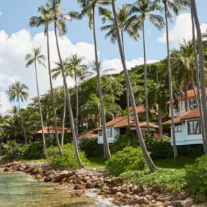 Luxury Koh Samui Honeymoon Packages Belmond Napasai Exterior