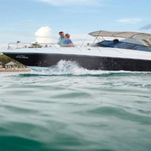 Luxury Koh Samui Honeymoon Packages Belmond Napasai Speed Boat