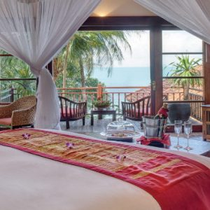 Luxury Koh Samui Honeymoon Packages Belmond Napsai One Bedroom Oceanfront Residence