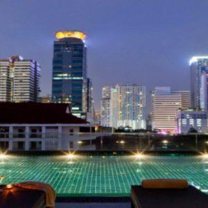 Luxury Thailand Honeymoon Packages U Sukhumvit Bangkok Pool At Night