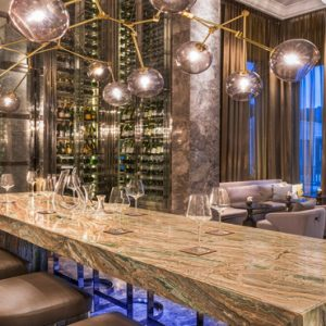 Malaysia Honeymoon Packages St Regis Langkawi Decanter Wine Bar