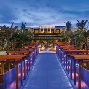 Malaysia Honeymoon Packages St Regis Langkawi Hotel Main Driveaway
