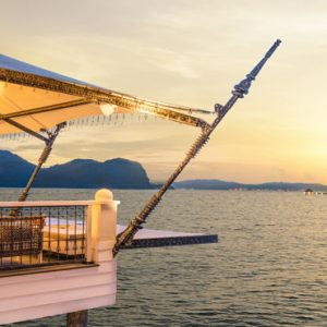 Malaysia Honeymoon Packages St Regis Langkawi Kayu Puti Sunset Deck