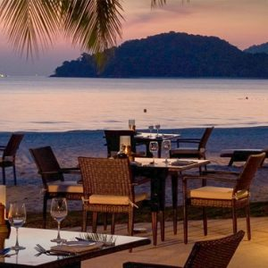 Malaysia Honeymoon Packages St Regis Langkawi Pantai Grill