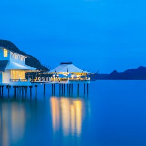 Malaysia Honeymoon Packages St Regis Langkawi Restaurant Exterior1