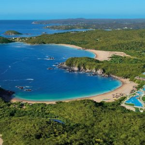Mexico Honeymoon Packages Secrets Huatulco Resorts & Spa Aerial View