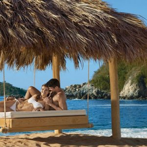 Mexico Honeymoon Packages Secrets Huatulco Resorts & Spa Beach Cabana