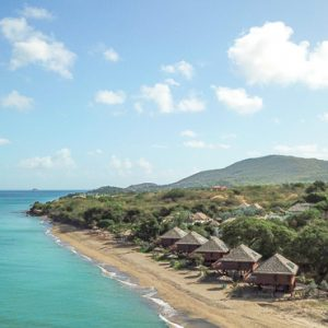 Nevis Honeymoon Packages Paradise Beach Nevis Resort Aerial View