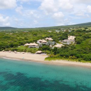 Nevis Honeymoon Packages Paradise Beach Nevis Resort Aerial View1