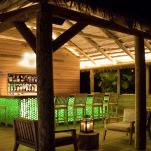 Nevis Honeymoon Packages Paradise Beach Nevis Resort Beach Bar At Night