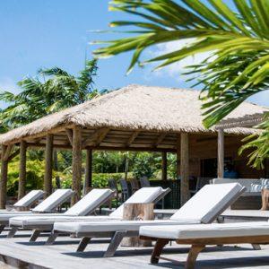 Nevis Honeymoon Packages Paradise Beach Nevis Resort Beach Sunloungers