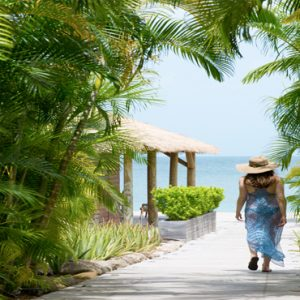 Nevis Honeymoon Packages Paradise Beach Nevis Resort Walkway