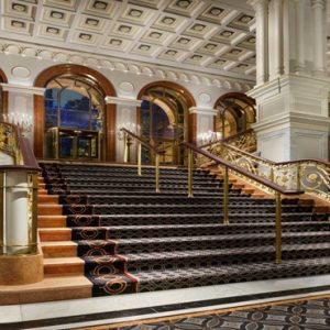 New York Honeymoon Packages Lotte New York Palace Grand Staircase In Lobby