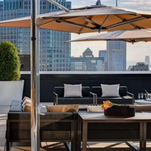 New York Honeymoon Packages Lotte New York Palace The Towers Terrace With Outdoor Seating And Skyline Views Of New York City