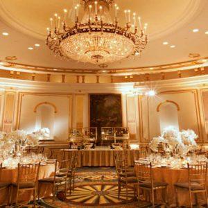 New York Honeymoon Packages Lotte New York Palace Wedding Dining Setup