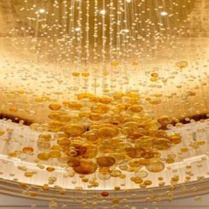 New York Honeymoon Packages Lotte New York Palace Elegant Chandelier On Ceiling