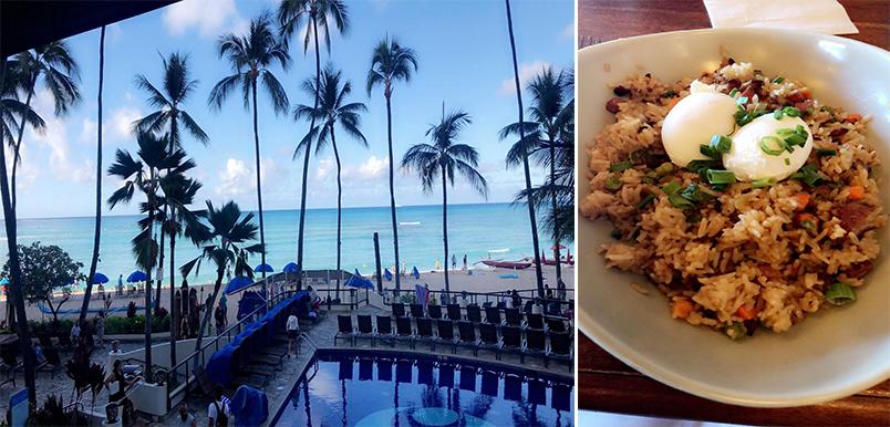 Raj And Karamdip's Hawaii, La And San Fran Honeymoon Blog Hula Grill On Waikiki Beach