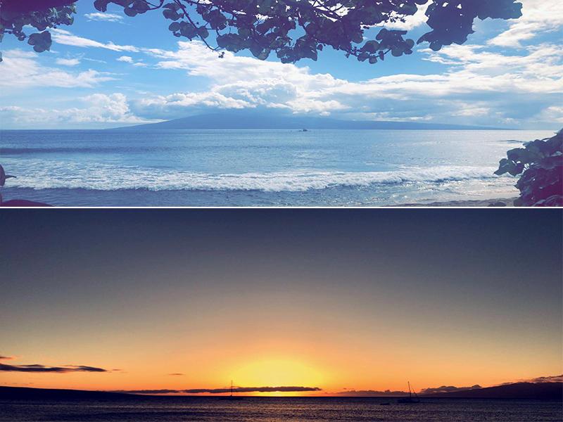 Raj And Karamdip's Hawaii, La And San Fran Honeymoon Blog Kaanapali Beach Maui