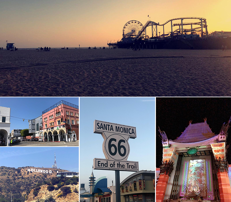 Raj And Karamdip's Hawaii, La And San Fran Honeymoon Blog Los Angeles Excursions