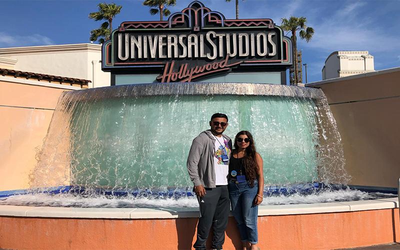 Raj And Karamdip's Hawaii, La And San Fran Honeymoon Blog Los Angeles Excursions1
