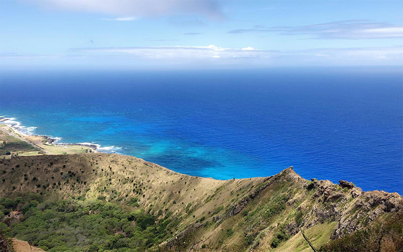 Raj And Karamdip's Hawaii, La And San Fran Honeymoon Blog Hiking In Honolulu