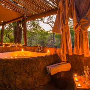 South Africa Honeymoon Packages Thornybush Game Reserve Thornybush Chapungu Tented Bush Camp 3