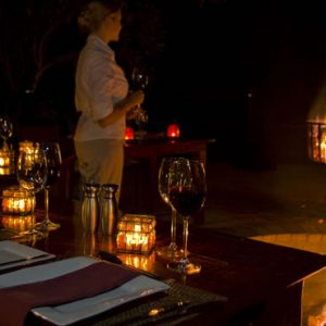 South Africa Honeymoon Packages Thornybush Game Reserve Dining 7