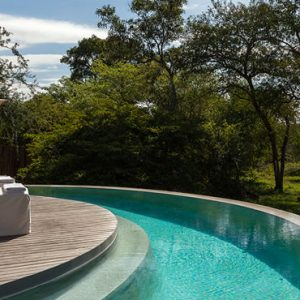 South Africa Honeymoon Packages Thornybush Game Reserve Pool