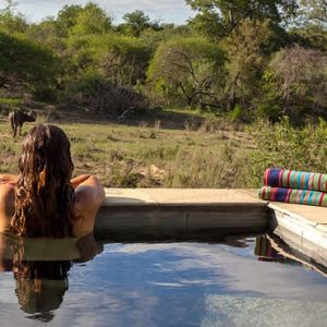 South Africa Honeymoon Packages Thornybush Game Reserve Pool 2