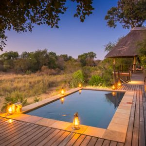 South Africa Honeymoon Packages Thornybush Game Reserve Pool 3