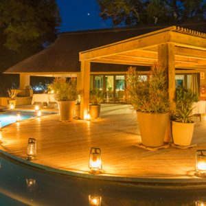 South Africa Honeymoon Packages Thornybush Game Reserve Pool 4