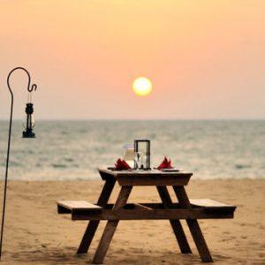 Sri Lanka Honeymoon Packages Dolphin Beach Resort Kalpitiya Beach Dining
