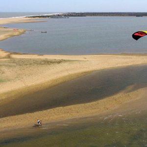 Sri Lanka Honeymoon Packages Dolphin Beach Resort Kalpitiya Kitesurfing