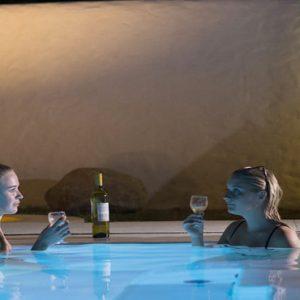 Sri Lanka Honeymoon Packages Dolphin Beach Resort Kalpitiya Pool At Night