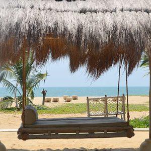 Sri Lanka Honeymoon Packages Dolphin Beach Resort Kalpitiya Seating Swing