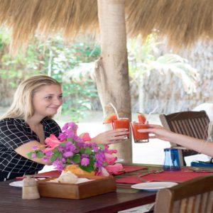 Sri Lanka Honeymoon Packages Dolphin Beach Resort Kalpitiya Open Dining Pavilion