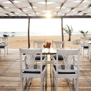 Sri Lanka Honeymoon Packages Dolphin Beach Resort Kalpitiya Open Dining Pavilion View