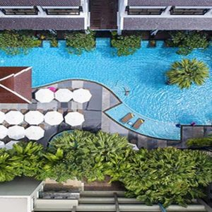 Thailand Honeymoon Packages Centara Anda Dhevi Resort & Spa Krabi Aerial View Of Swimming Pool