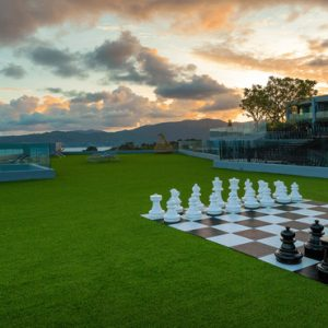 Thailand Honeymoon Packages Crest Resort And Pool Villas, Phuket Chess At Diva Sky Lounge