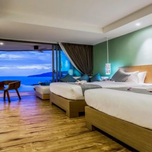 Thailand Honeymoon Packages Crest Resort And Pool Villas, Phuket Deluxe Pool Access Sea View