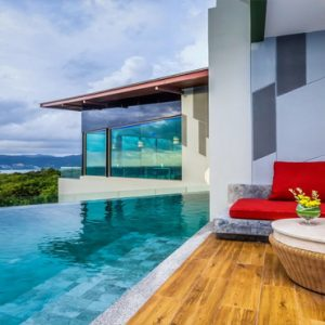 Thailand Honeymoon Packages Crest Resort And Pool Villas, Phuket Deluxe Pool Access Sea View 1