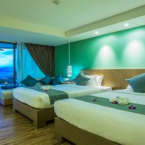 Thailand Honeymoon Packages Crest Resort And Pool Villas, Phuket Deluxe Pool Access Sea View 3