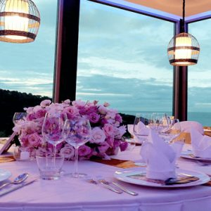 Thailand Honeymoon Packages Crest Resort And Pool Villas, Phuket Dining With A View