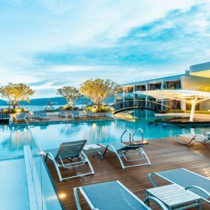 Thailand Honeymoon Packages Crest Resort And Pool Villas, Phuket Pool Area