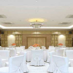 Thailand Honeymoon Packages Crest Resort And Pool Villas, Phuket Wedding Dining Setup
