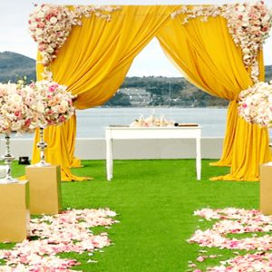 Thailand Honeymoon Packages Crest Resort And Pool Villas, Phuket Wedding Setup