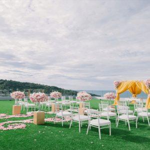 Thailand Honeymoon Packages Crest Resort And Pool Villas, Phuket Wedding Setup1